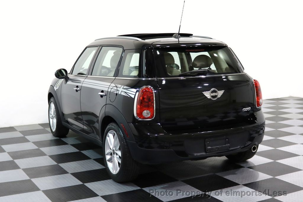 2012 MINI Cooper Countryman CERTIFIED  COUNTRYMAN 6 SPEED PANO NAVIGATION - 17103140 - 2