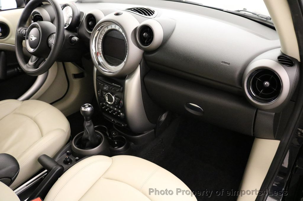 2012 MINI Cooper Countryman CERTIFIED  COUNTRYMAN 6 SPEED PANO NAVIGATION - 17103140 - 33