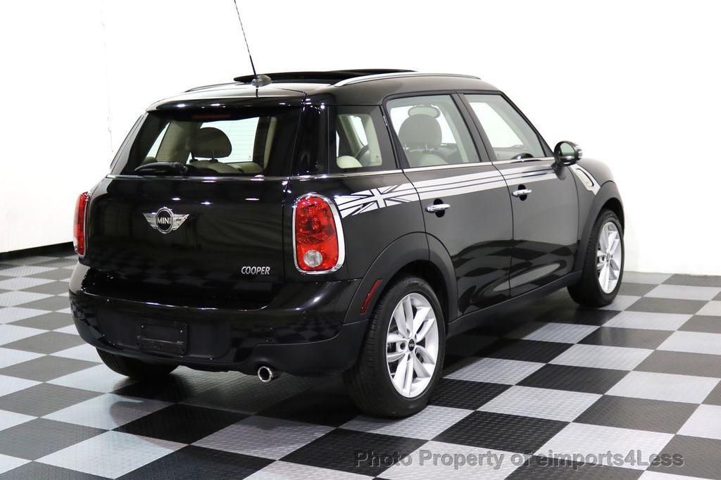 2012 MINI Cooper Countryman CERTIFIED  COUNTRYMAN 6 SPEED PANO NAVIGATION - 17103140 - 3