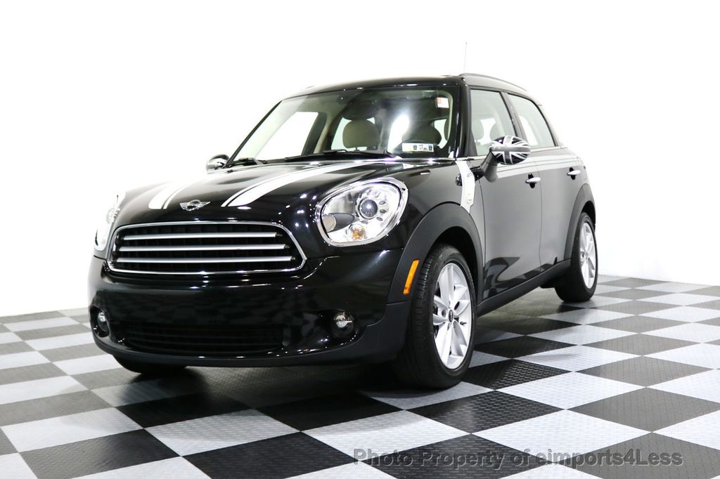 2012 MINI Cooper Countryman CERTIFIED  COUNTRYMAN 6 SPEED PANO NAVIGATION - 17103140 - 40