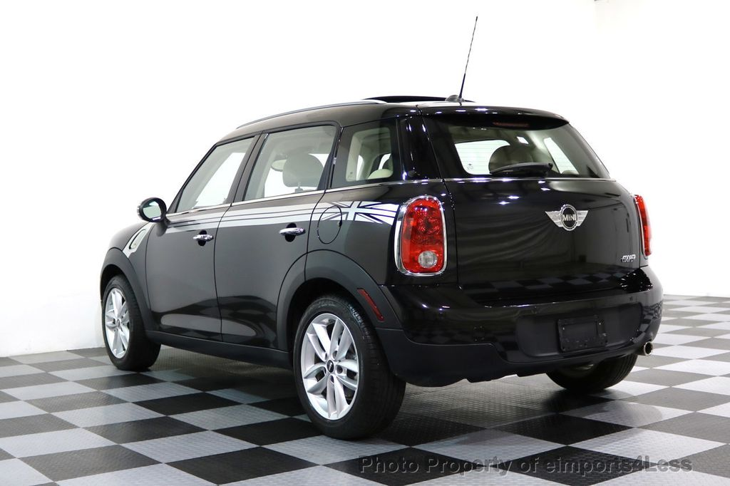 2012 MINI Cooper Countryman CERTIFIED  COUNTRYMAN 6 SPEED PANO NAVIGATION - 17103140 - 42