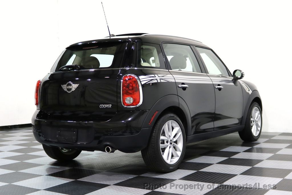 2012 MINI Cooper Countryman CERTIFIED  COUNTRYMAN 6 SPEED PANO NAVIGATION - 17103140 - 43