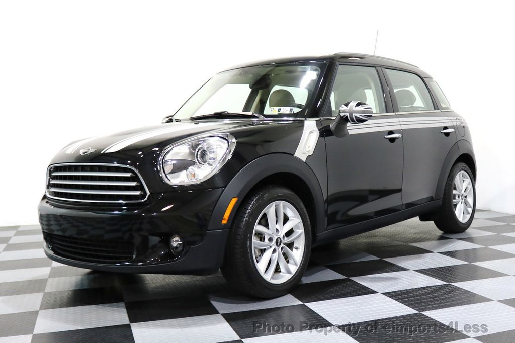 2012 MINI Cooper Countryman CERTIFIED  COUNTRYMAN 6 SPEED PANO NAVIGATION - 17103140 - 44