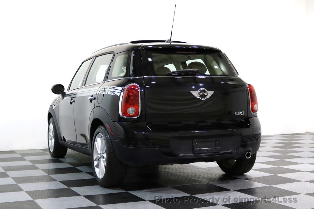 2012 MINI Cooper Countryman CERTIFIED  COUNTRYMAN 6 SPEED PANO NAVIGATION - 17103140 - 45