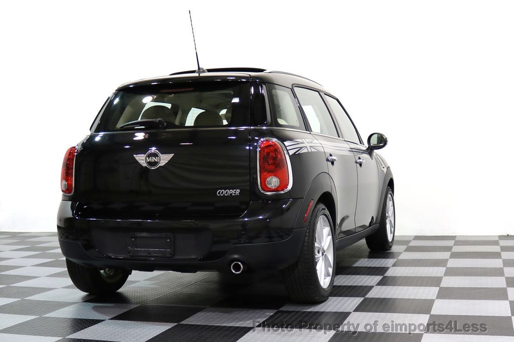 2012 MINI Cooper Countryman CERTIFIED  COUNTRYMAN 6 SPEED PANO NAVIGATION - 17103140 - 46