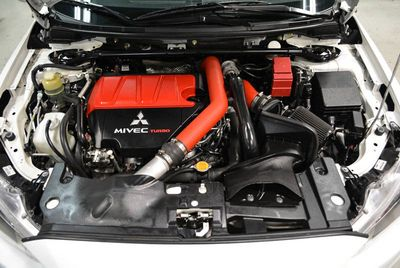 2012 Mitsubishi Lancer Evolution X GSR - Click to see full-size photo viewer