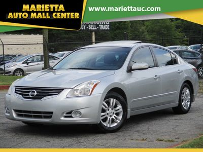 2012 Nissan Altima 4dr Sedan I4 CVT 2.5 SL - Click to see full-size photo viewer