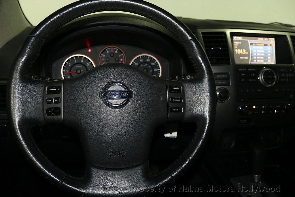 2012 Nissan Armada 2WD 4dr SL - 17843933 - 27