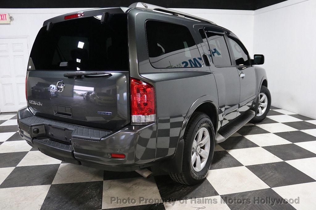 2012 Nissan Armada 2WD 4dr SL - 17843933 - 6