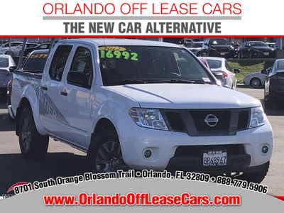 2012 Nissan Frontier 4WD Crew Cab SWB Automatic SV