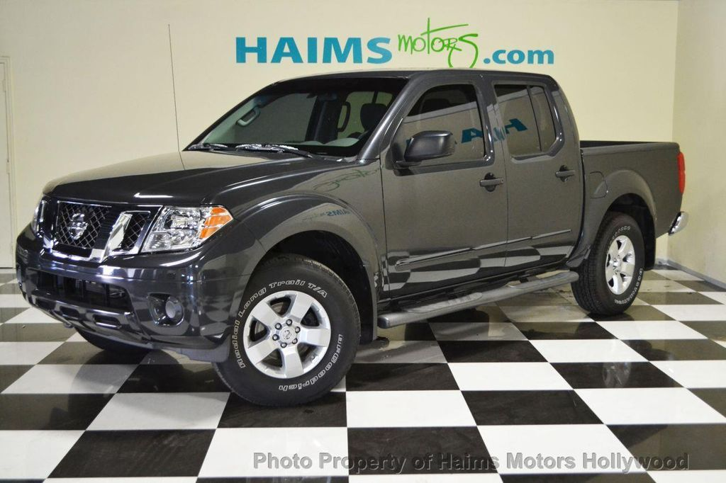 2012 used nissan frontier 4wd king cab automatic pro 4x at haims motors serving fort lauderdale. Black Bedroom Furniture Sets. Home Design Ideas