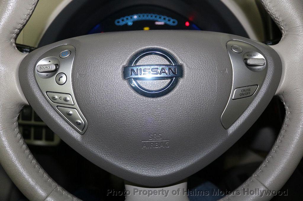 2012 Nissan Leaf  - 17943353 - 28