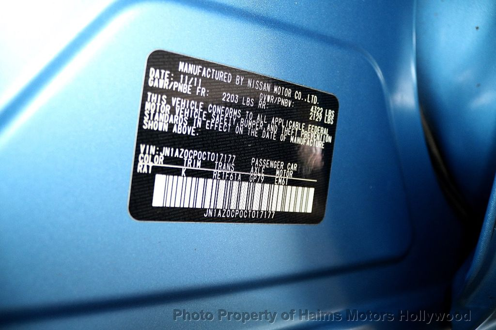 2012 Nissan Leaf  - 17943353 - 34