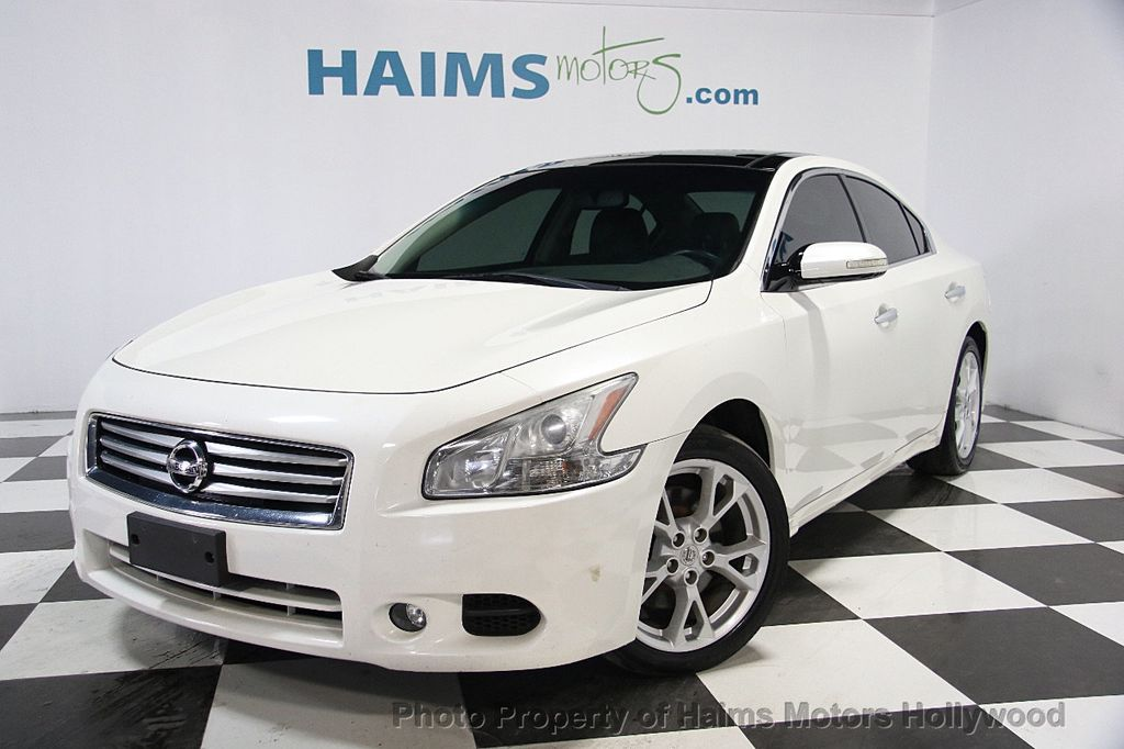 2012 used nissan maxima 4dr sedan v6 cvt 3 5 sv w premium pkg at haims motors serving fort. Black Bedroom Furniture Sets. Home Design Ideas
