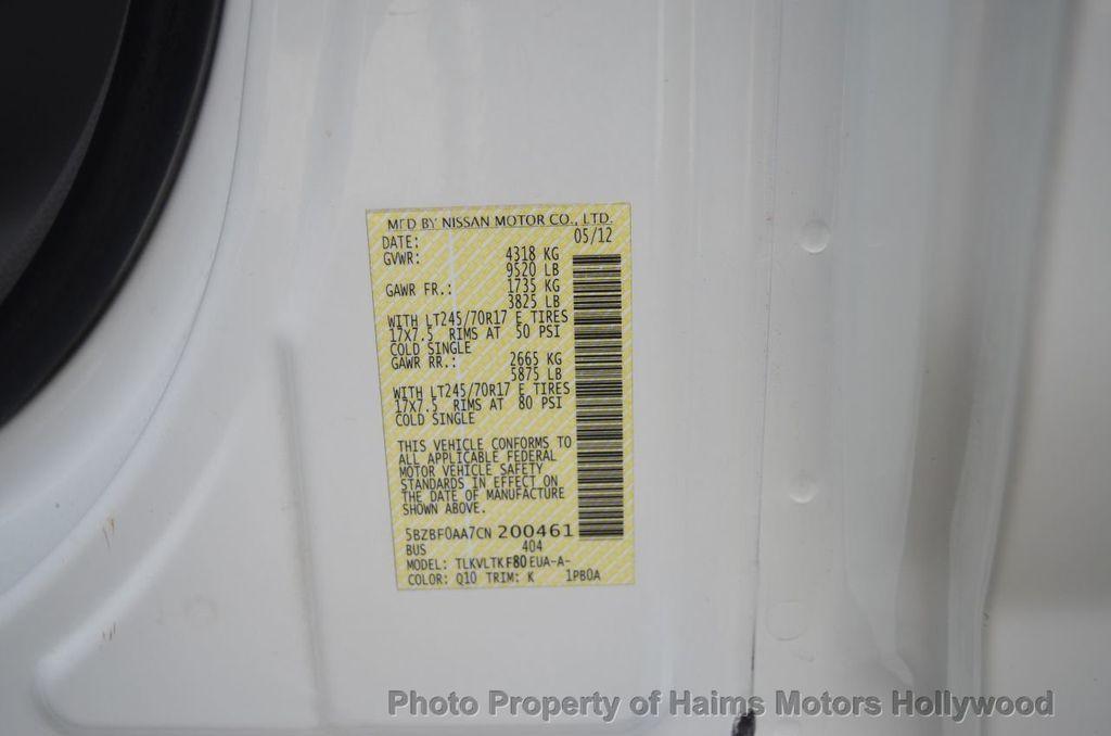 2012 Nissan NVP 3500 V6 SV - 18346487 - 42