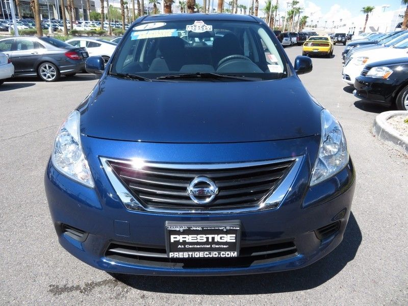 2012 used nissan versa 4dr sedan cvt 1 6 sv at king of cars towbin dodge nv iid 16838134. Black Bedroom Furniture Sets. Home Design Ideas