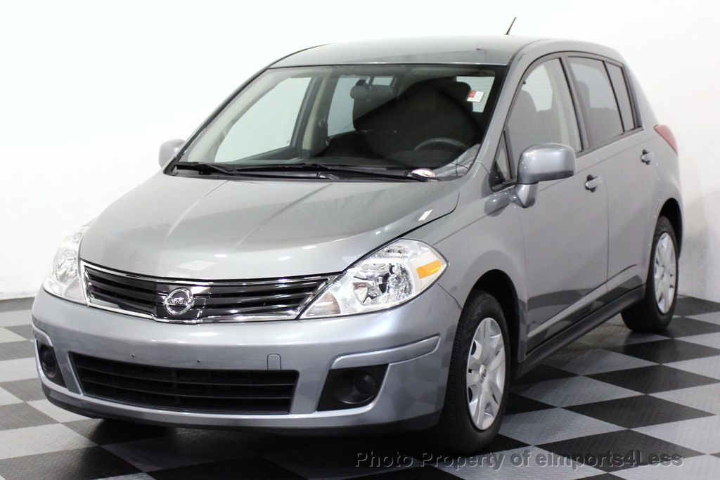 2012 used nissan versa certified versa s hatchback at. Black Bedroom Furniture Sets. Home Design Ideas