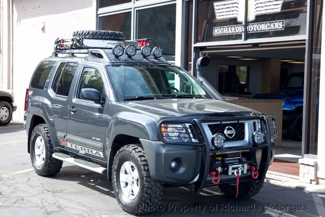 2012 used nissan xterra 4wd 4dr automatic pro 4x at richards rh richardsmotorcars com 2006 Nissan Xterra 04 Nissan Xterra