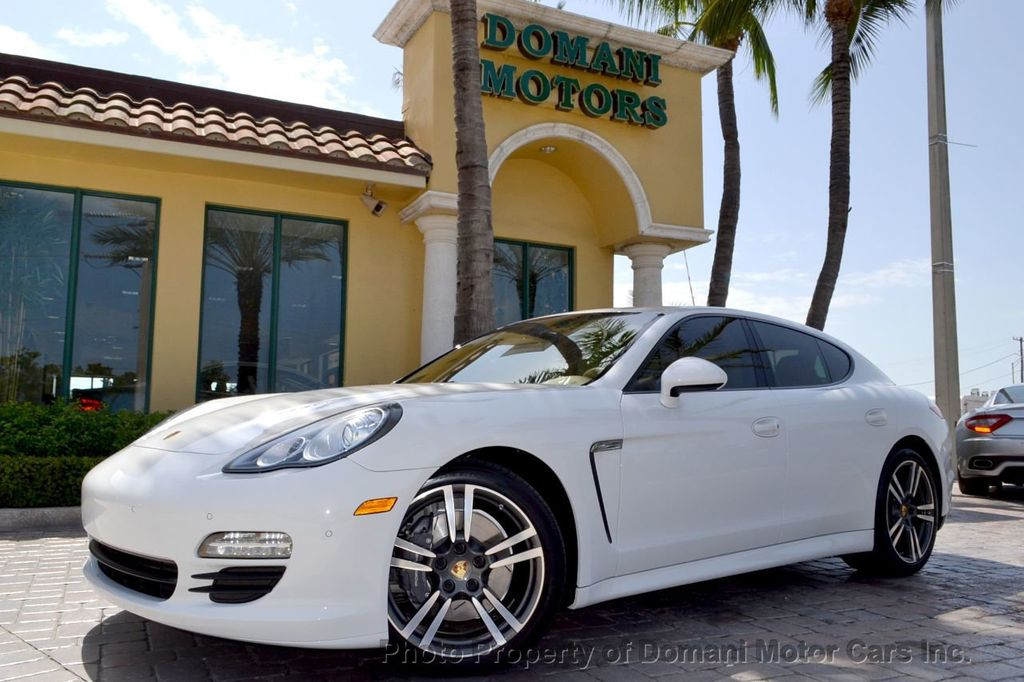 2012 Porsche Panamera 2012 Porsche Panamera (PDK Transmission) with only 46,253 miles! - 17540969 - 1