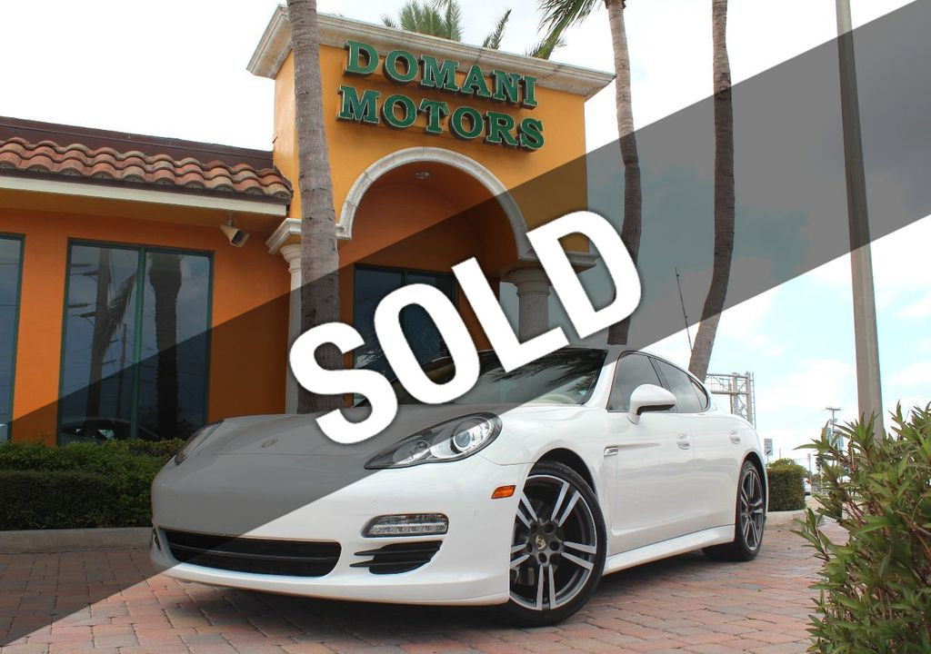 2012 Porsche Panamera OWN for JUST $414/MONTH! Only 52,031 miles! PDK! - 17540969 - 0
