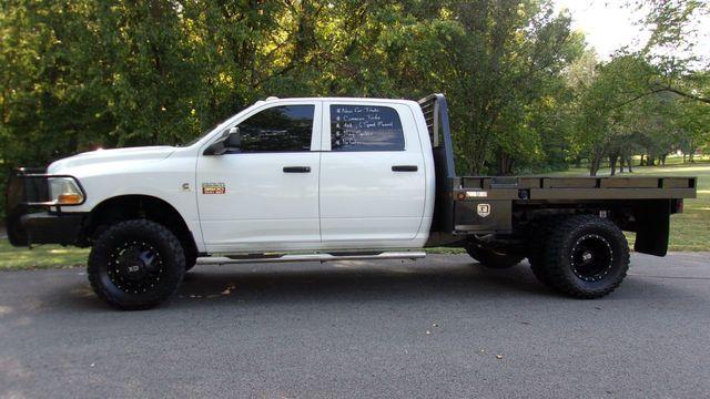 2012 Ram 3500 4WD CREW CAB FLATBED MANUAL