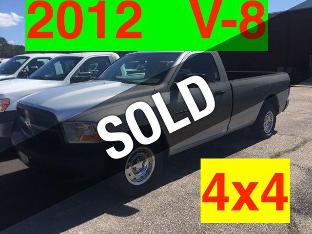 2012 RAM 4x4 LONGBED V8 AUTO ONE OWNER NC TRUCK CRUISE CONTROL!!! BEDLINER