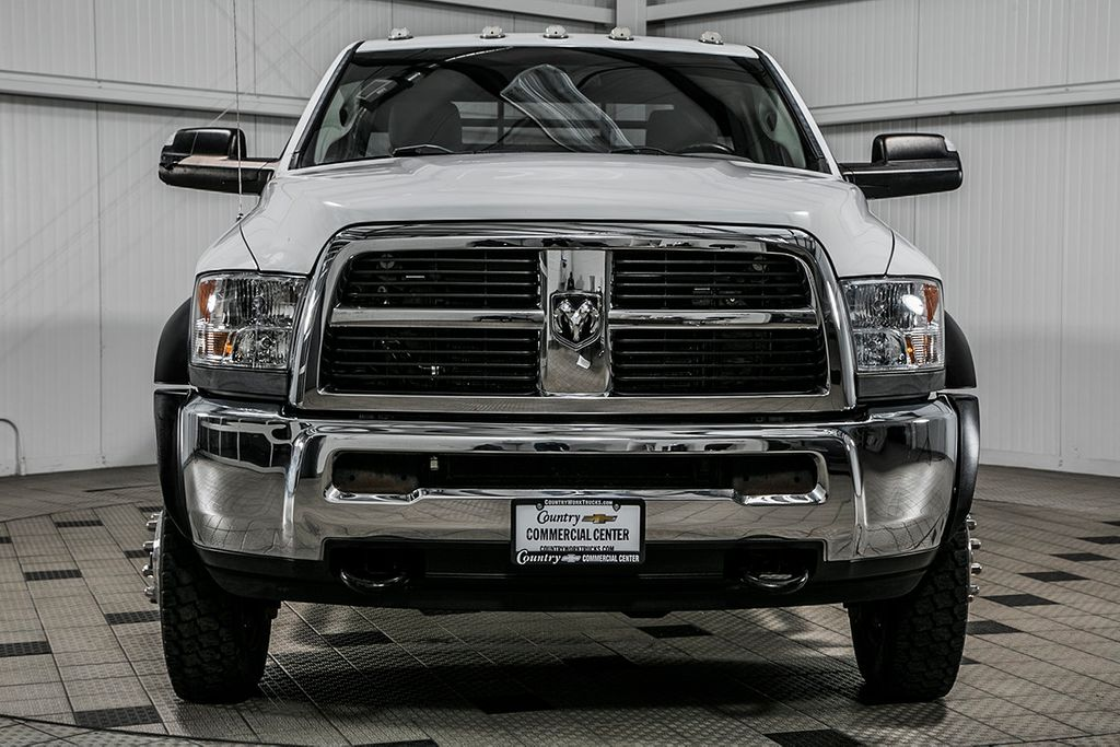 2012 Ram 5500 5500 REG CAB 4X4 * 6.7 CUMMINS * 6 SPEED * 9' BRADFORD FLATBED  - 17192939 - 1