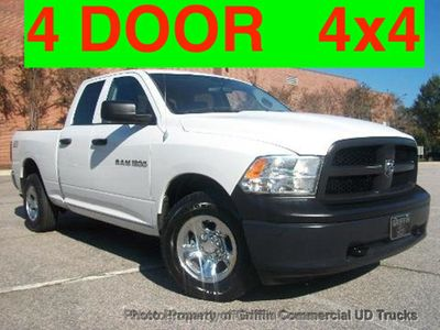 2012 Ram CREW CAB 4X4 JUST 79K MILES ONE OWNER+ FULL POWER OPTIONS Truck