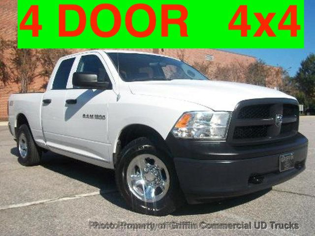 2012 Ram CREW CAB 4X4 JUST 79K MILES ONE OWNER+ FULL POWER OPTIONS