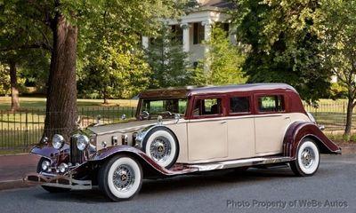 2012 Rosewood Classic Coach Limousine Sedan