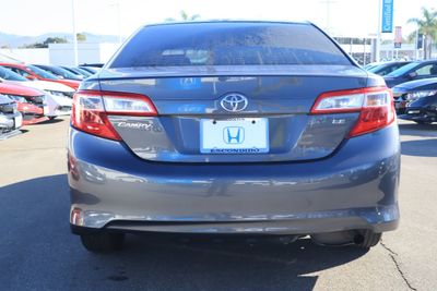 2012 Toyota Camry 4dr Sedan I4 Automatic LE - Click to see full-size photo viewer
