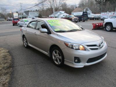 2012 Toyota Corolla 4dr Sedan Manual S - Click to see full-size photo viewer