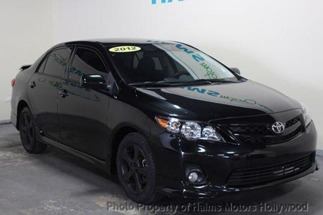 2012 Used Toyota Corolla S At Haims Motors Serving Fort