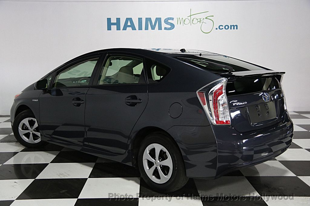 2012 Used Toyota Prius 5dr Hatchback Four At Haims Motors Serving Fort Lauderdale Hollywood