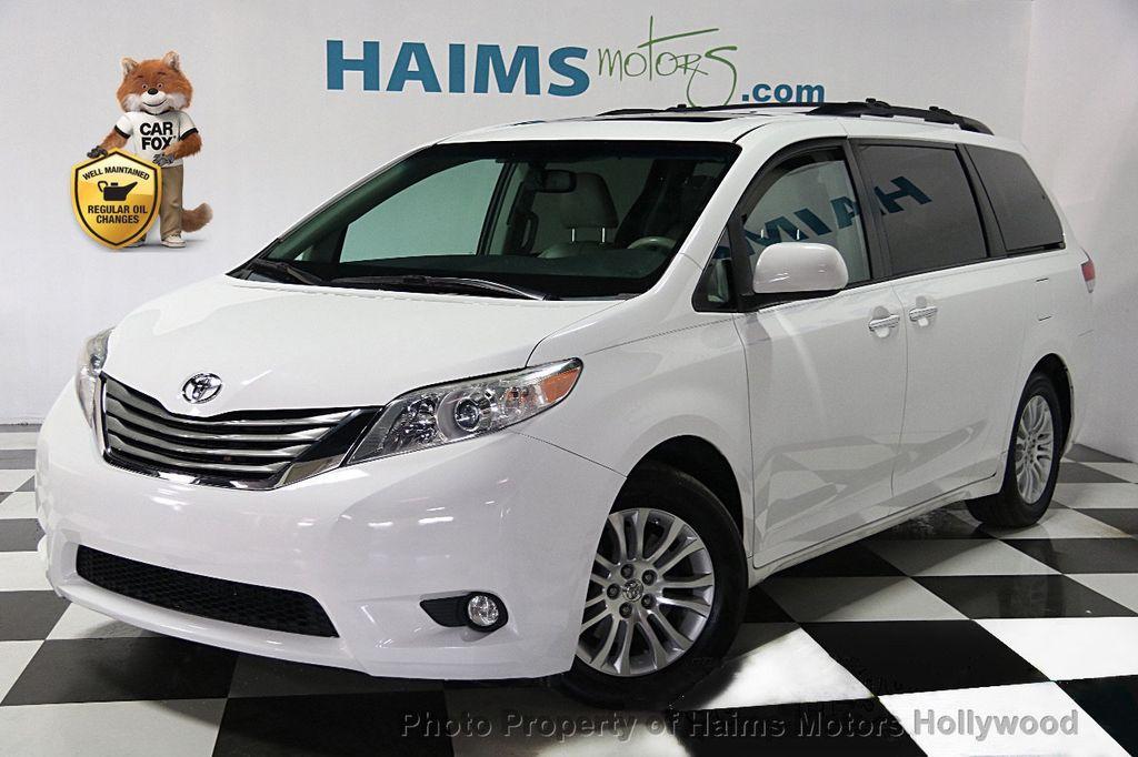2012 Used Toyota Sienna 5dr 7 Passenger Van V6 Xle Aas Fwd