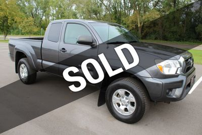 2012 Toyota Tacoma SR5 4WD ACCESS CAB 5SPD MANUAL TRANSMISSION Truck
