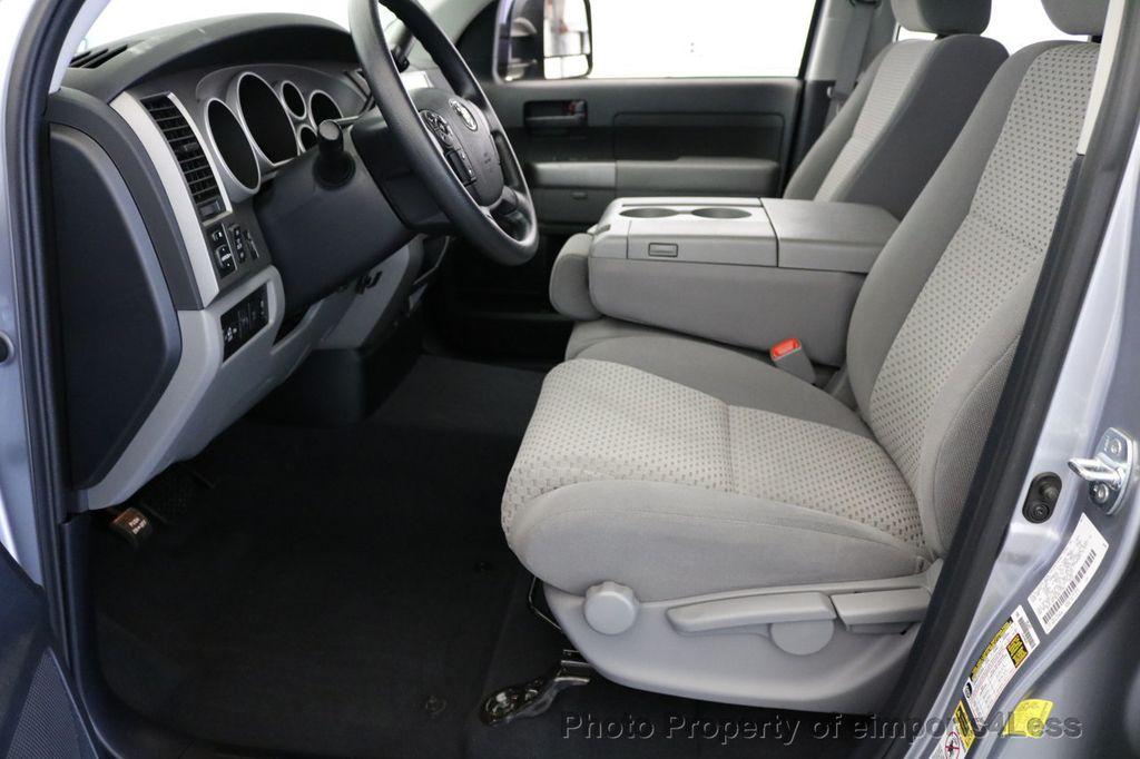 2012 Toyota Tundra CERTIFIED TUNDRA 5.7 V8 4X4 CREW CAB LONG BED - 17234263 - 28