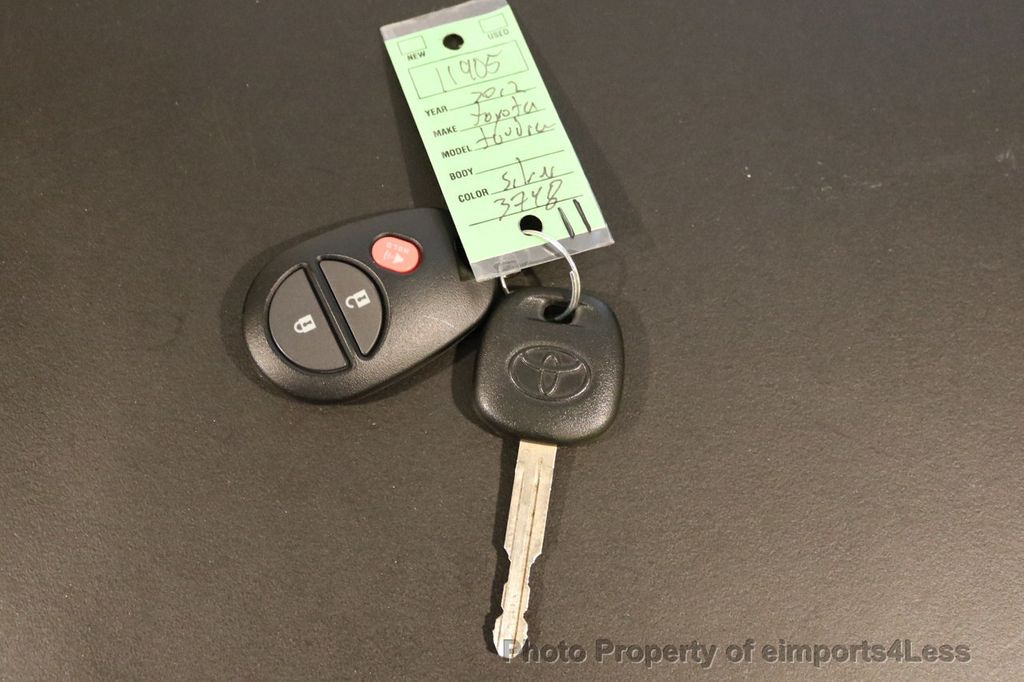 2012 Toyota Tundra CERTIFIED TUNDRA 5.7 V8 4X4 CREW CAB LONG BED - 17234263 - 34