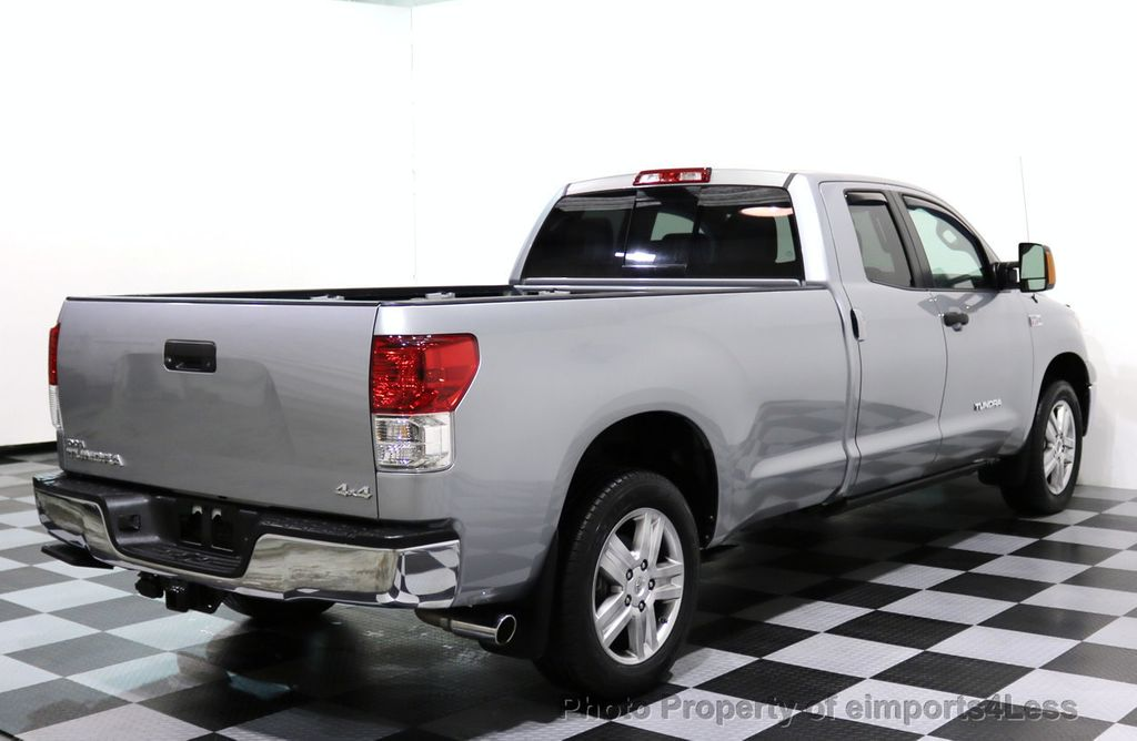 2012 Toyota Tundra CERTIFIED TUNDRA 5.7 V8 4X4 CREW CAB LONG BED - 17234263 - 39