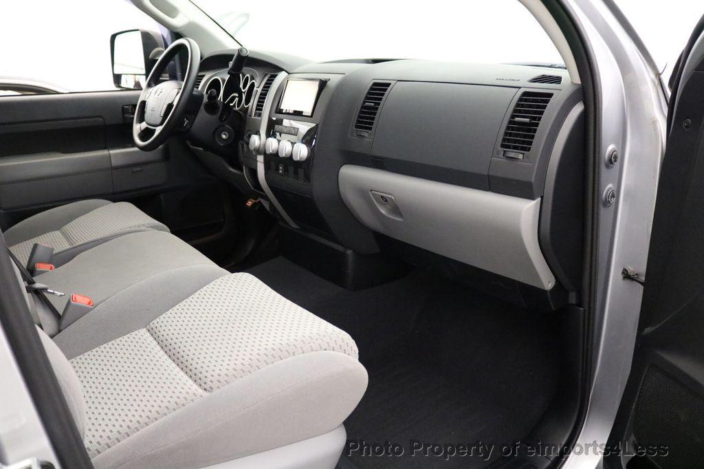 2012 Toyota Tundra CERTIFIED TUNDRA 5.7 V8 4X4 CREW CAB LONG BED - 17234263 - 46