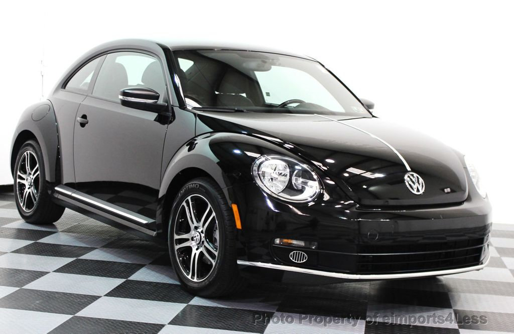 2012 Used Volkswagen Beetle Certified Beetle Coupe At