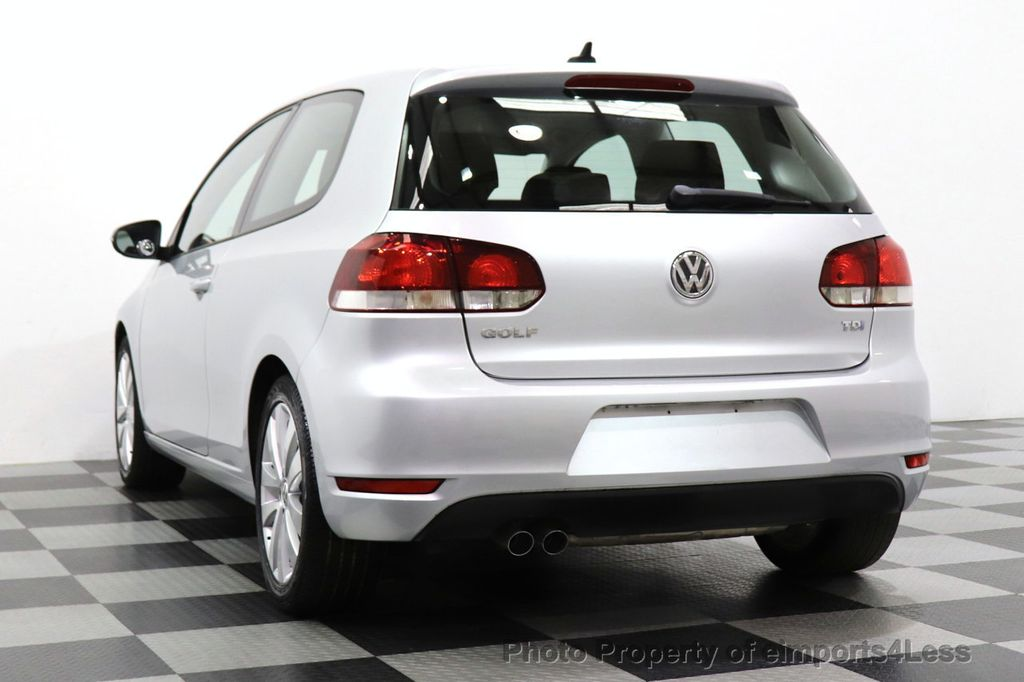 2012 Volkswagen Golf CERTIFIED GOLF TDI 6MT - 18499009 - 9