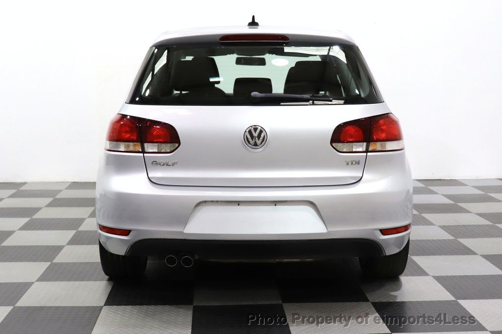 2012 Volkswagen Golf CERTIFIED GOLF TDI 6MT - 18499009 - 10