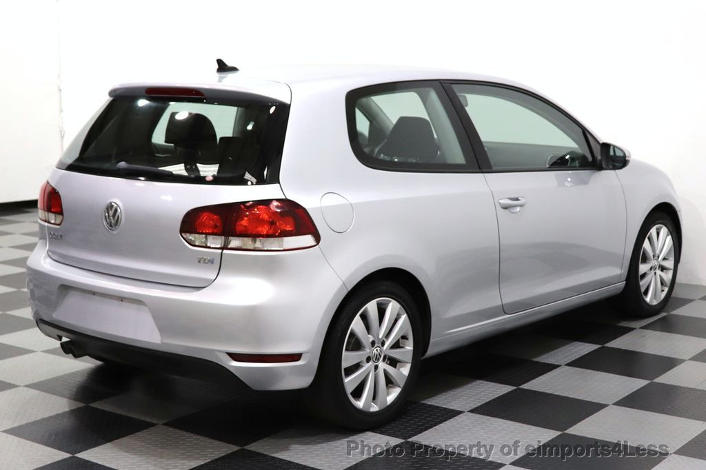 2012 Volkswagen Golf CERTIFIED GOLF TDI 6MT - 18499009 - 11