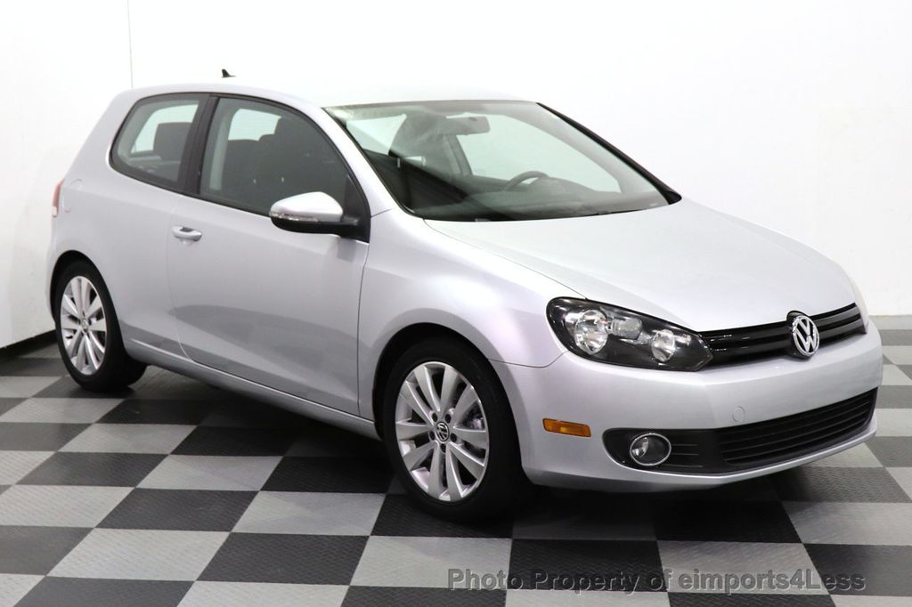 2012 Volkswagen Golf CERTIFIED GOLF TDI 6MT - 18499009 - 1