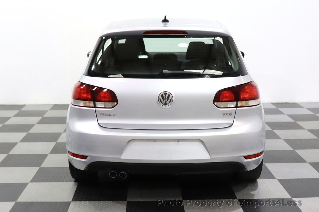 2012 Volkswagen Golf CERTIFIED GOLF TDI 6MT - 18499009 - 22