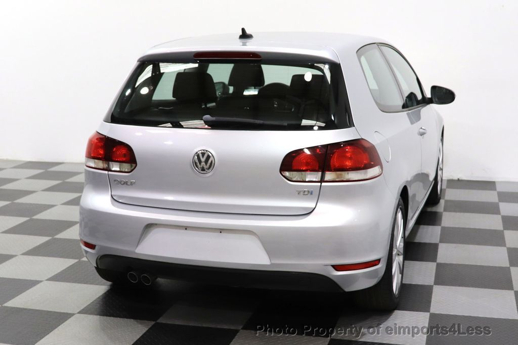 2012 Volkswagen Golf CERTIFIED GOLF TDI 6MT - 18499009 - 28