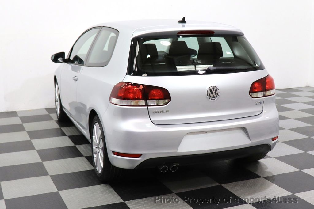 2012 Volkswagen Golf CERTIFIED GOLF TDI 6MT - 18499009 - 42