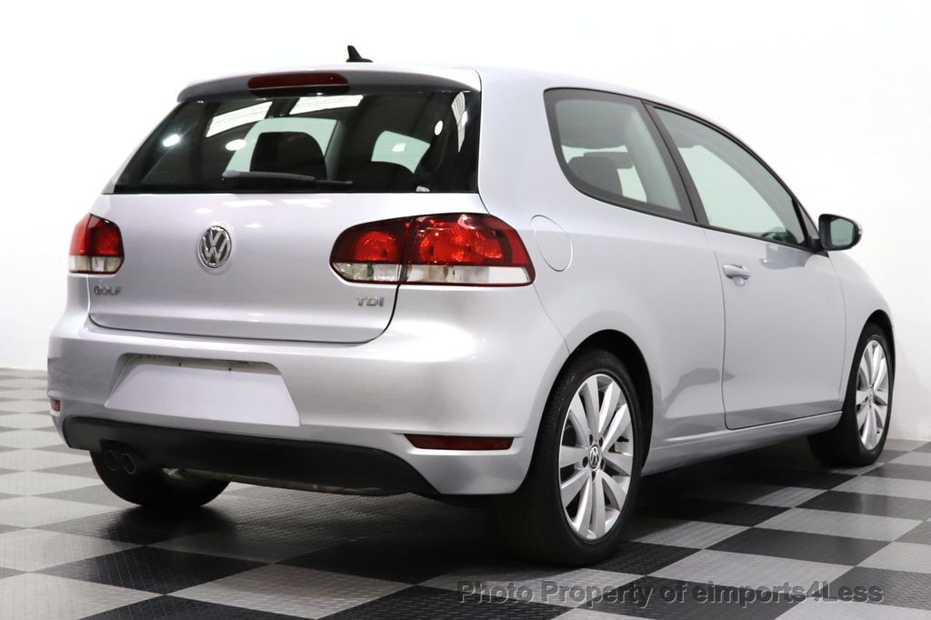 2012 Volkswagen Golf CERTIFIED GOLF TDI 6MT - 18499009 - 43
