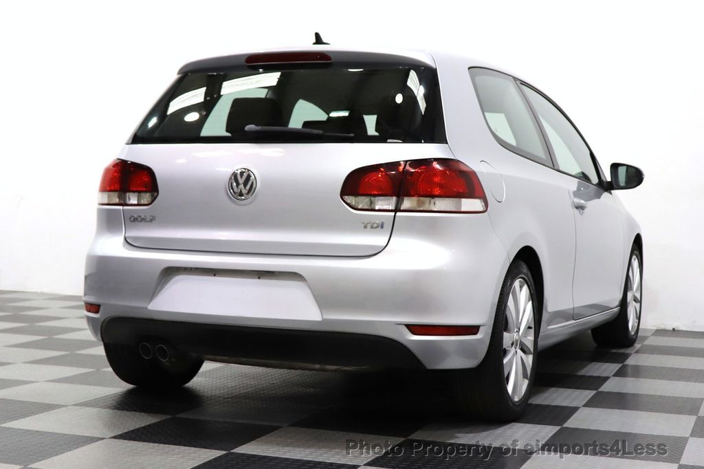 2012 Volkswagen Golf CERTIFIED GOLF TDI 6MT - 18499009 - 48